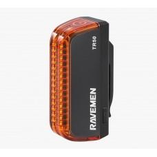 Мигалка задня Ravemen TR50BK USB 50 Люмен Чорна