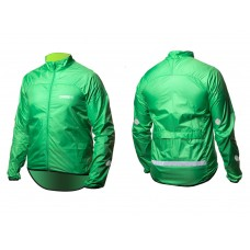 Вітровка ONRIDE Gust reflective зелений S