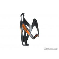 Фляготримач KLS Patriot чорний/помаранчевий пластиковий