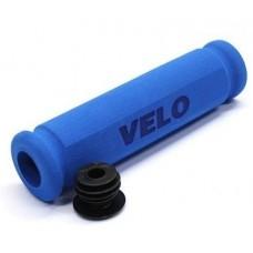 Ручки руля Velo VLG-075ABL 117 мм. блакитний