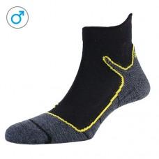 Шкарпетки жіночі P.A.C. Trekking Superlight Anthrazit-Yellow - 35-37