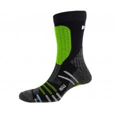 Шкарпетки жіночі P.A.C. Ski Cross Country Pro. розмір розмір 35-37. неоновий зелений