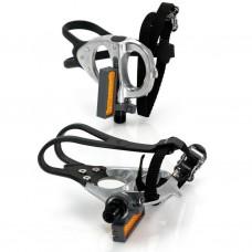 XLC PD-R02, 420 гр, серебристые, с ремешками и тулипсами