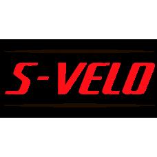 Подножки для заднего велокресла Bellelli, пара, красные