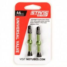 Безкамерний ніпель Stan's Notubes FV 44мм (2шт на блістері) зелені