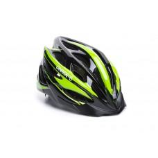 Шолом ONRIDE Mount чорний/зелений L (58-61 см)