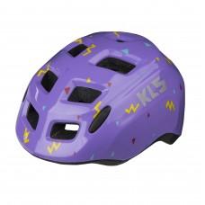 Шолом KLS Zigzag дитячий фіолетовий S (49-53 cм)
