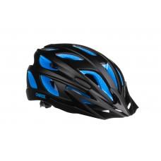 Шолом ONRIDE Puls чорний/синій L (57-61 см)