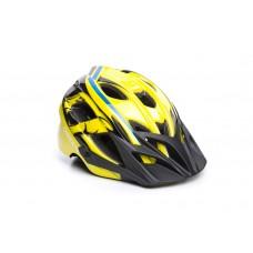 Шолом ONRIDE Rider глянцевий жовтий/блакитний S (48-52 см)