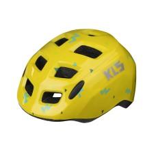 Шолом KLS Zigzag дитячий жовтий S (49-53 cм)