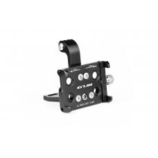 Мультифункціональний тримач гаджета GUB G-99 на винос алюмінієвий з кріпленням GoPro/світла. чорний
