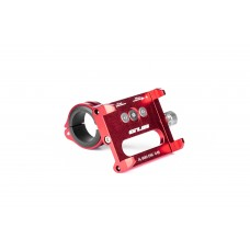 Тримач гаджета GUB G-86 на кермо/винос алюмінієвий. червоний