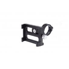 Тримач гаджета GUB_PLUS 3_BK на кермо пластиковий з поворотним механізмом. чорний