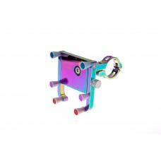 Тримач гаджета GUB PLUS 12 на кермо алюмінієвий з поворотним механізмом кольоровий