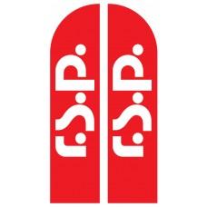 Прапор «Парус» з логотипом RSP