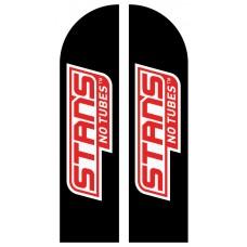 Прапор «Парус» з логотипом Stans No Tubes