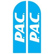 Прапор «Парус» з логотипом РАС