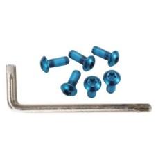 Гвинти Alligator для кріплення ротора Torx синій 6 шт + ключ